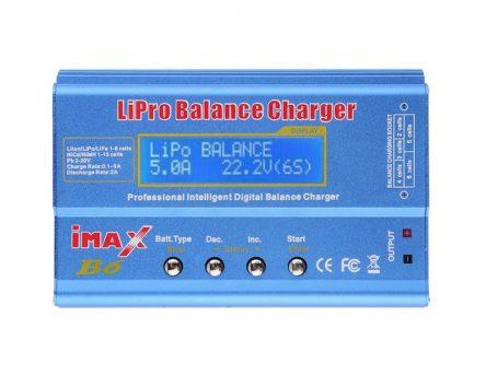 Cargador balanceador para baterías lipo Imax B6