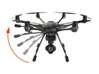 Tren de aterrizaje retráctil del Drone Yuneec Typhoon H