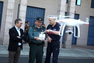 La Axega facilita drones