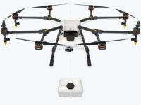 Drone para agricultura DJI Agras tanque de pulverizacion