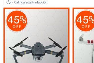 Drone Store es un fraude