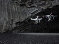 drones dji phantom 4 pro+ obsidian