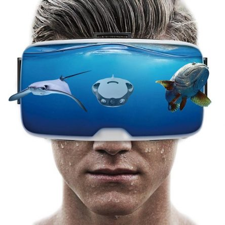 Gafas Realidad Virtual de drone submarino PowerRay