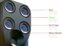 Sensor multiespectral para agricultura de precision Parrot Sequoia