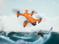 Spry drone para deportes acuaticos
