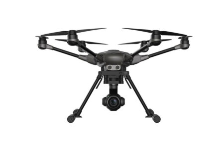 multicoptero FPV yuneec typhoon H plus Intel Real Sense